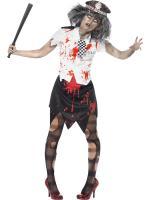 Déguisement Zombie Policewoman