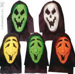 Masque Vinyle avec capuche et yeux invisibles