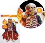 Déguisements Décor Electrostatique Squelette