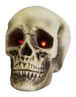 Déguisements Crâne Polystyrène avec yeux lumineux