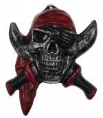 Déguisements Décoration Pirate Tête de Mort