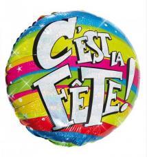 ballon helium c est la fete