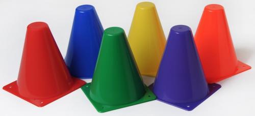 cone de delimitation plein 15 cm