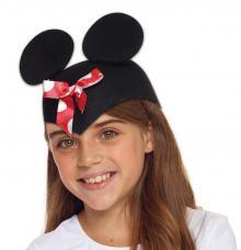 coiffe petite souris avec noeud enfant