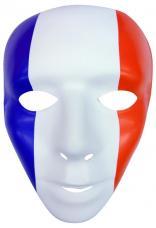 masque plastique tricolore