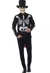 Déguisement squelette dia de los muertos pas cher