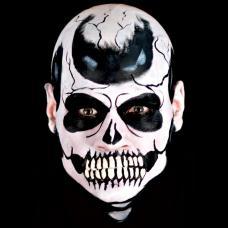 prothese latex bouche de squelette