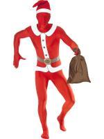 Déguisement Seconde Peau Père Noël avec sac