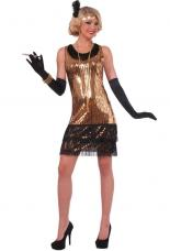 costume annees 20 a sequins