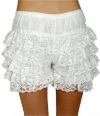 panty dentelle blanche