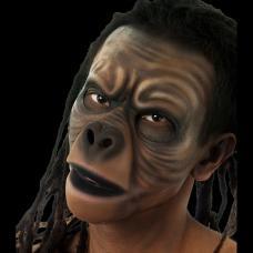 prothese latex visage de singe
