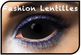 lentilles noir