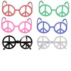 Lunettes Hippie Plastique