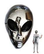 Masque Alien Argent