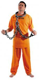 Déguisement Prisonnier US