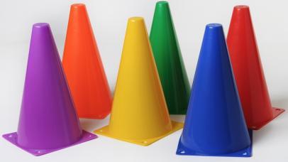 cone de delimitation plein 23 cm