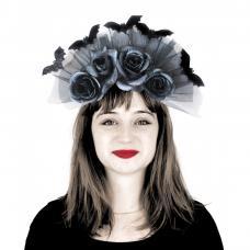 serre tete roses noires et chauves souris