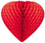 Déguisements Coeur à suspendre rouge