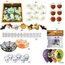 kit decorations halloween enfant