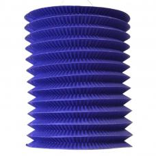 lampion bleu 16 cm