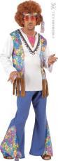 deguisement hippie homme woodstock