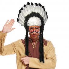 coiffe chef indien pour adulte