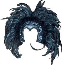 coiffe bresilienne noir