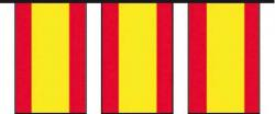 Guirlande drapeaux Espagne pas cher