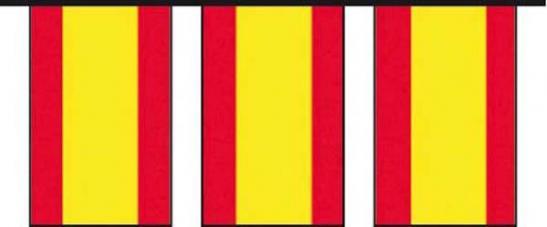 guirlande drapeaux espagne
