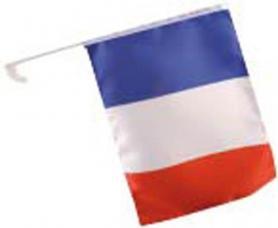 drapeau equipe de france pour voiture