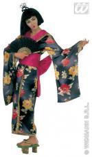 deguisement geisha satin pour femme