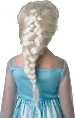 Perruque Elsa Reine des Neiges Enfant