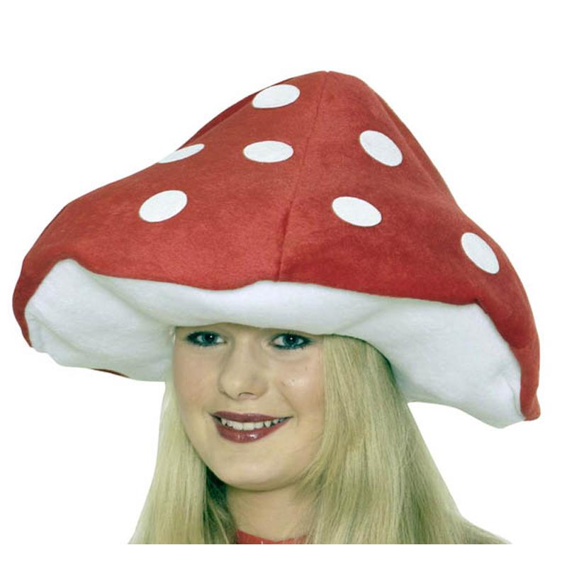 chapeau champignon ou amanite tue mouche pour enfant. Black Bedroom Furniture Sets. Home Design Ideas