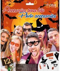 accessoires halloween pour photo fun