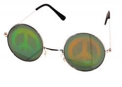 Lunettes Hologram Peace and Love