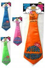 Cravate Joyeux Anniversaire