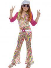 deguisement hippie psychedelique pour fille