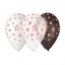 ballons metallises imp etoiles