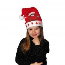 bonnet de noel lumineux pour enfant luxe