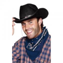 Bandana Cow-boy Bleu