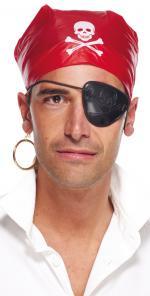 Foulard et cache oeil pour Pirate