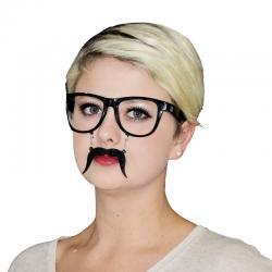 Lunettes Noires Avec Moustache