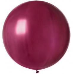 Ballon géant rond bordeaux pas cher