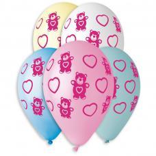 ballons motif ourson