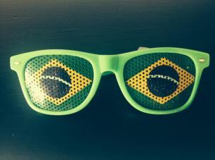 lunettes bresil supporter