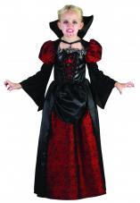 costume vampiresse avec col