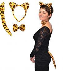 set panthere leopard
