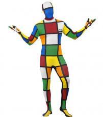 deguisement rubiks cube