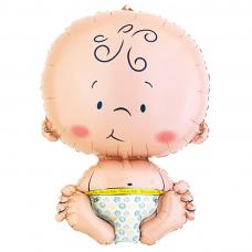 ballon en forme de bebe
