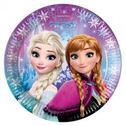 Assiette anniversaire la reine des neiges pas cher